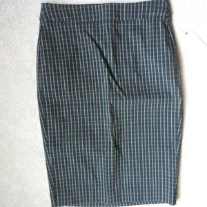 Elle Pull On Stretch Pencil Skirt Size X Small